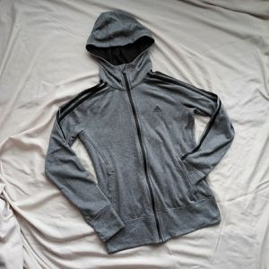 Adidas Go To Hoodie Climawarm Size Small Full Zip